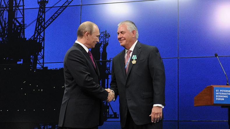 Poutine Tillerson