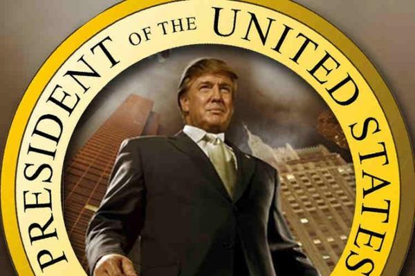 Président des Etats-Unis Donald Trump