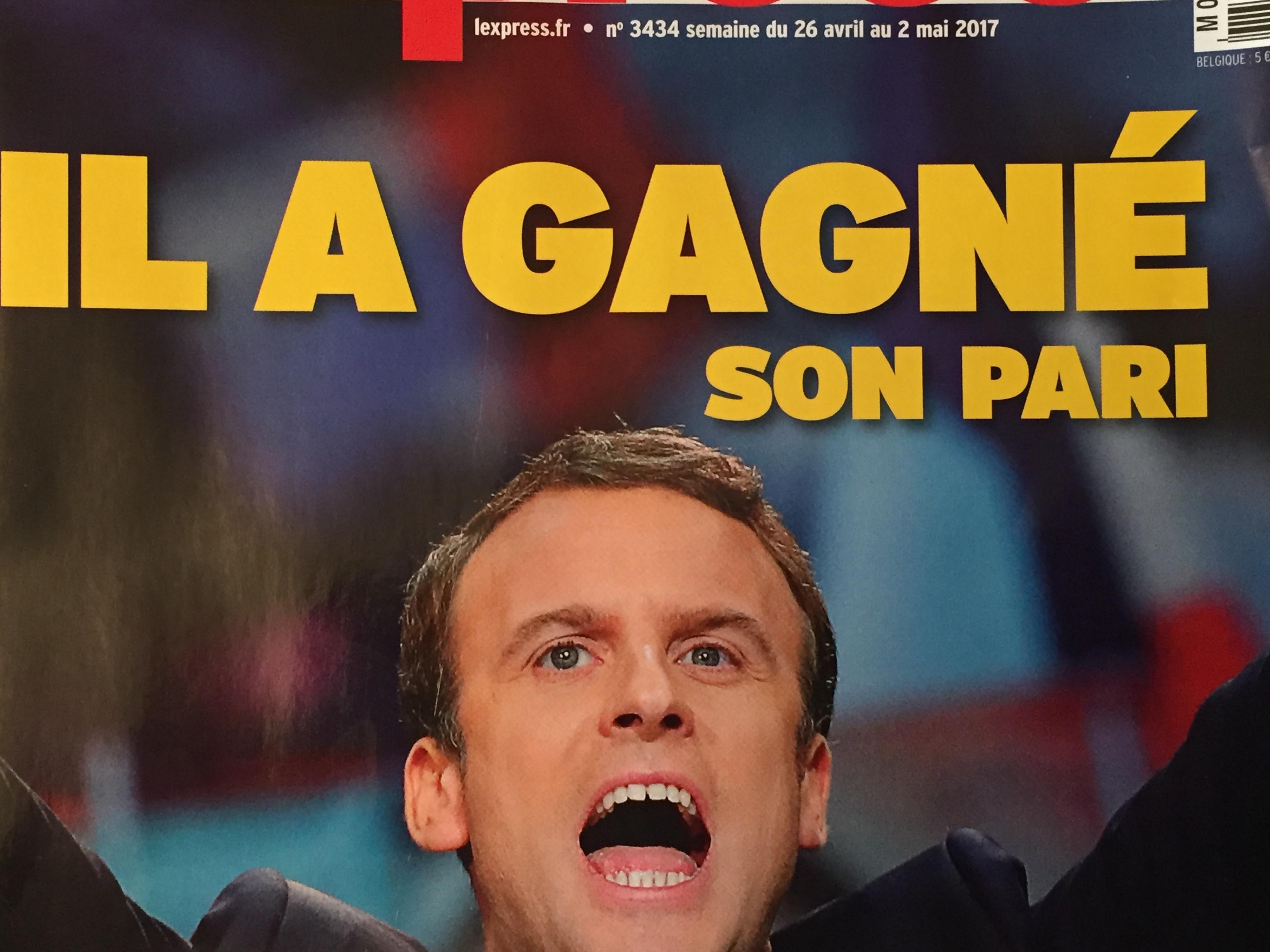 Marine Le Pen-Macron