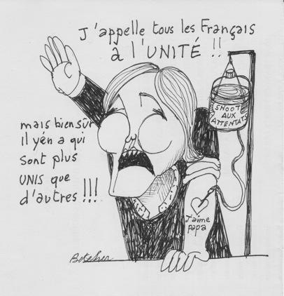Marine Le Pen-caricature