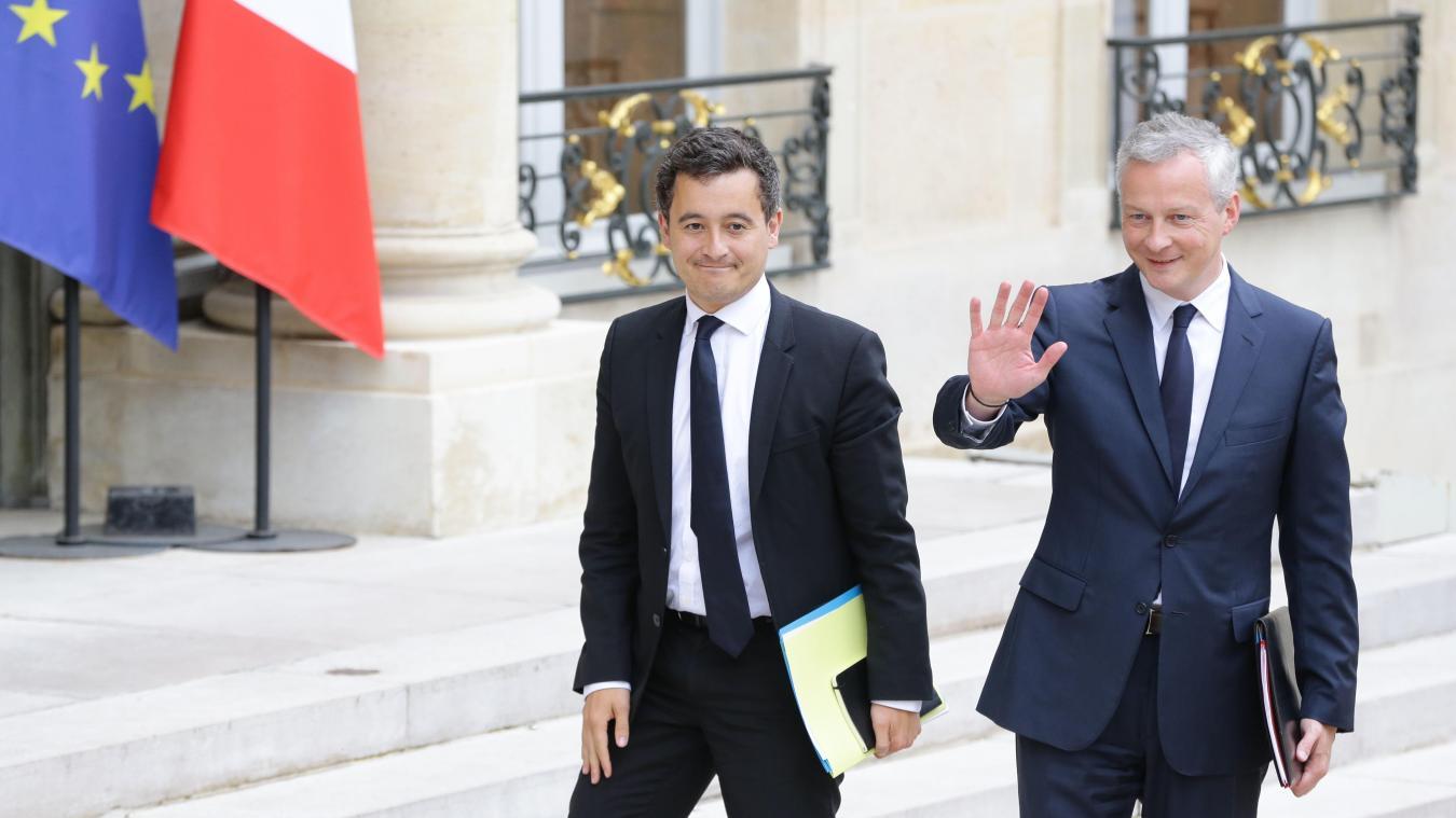 gouvernement-LeMaire-Darmanin