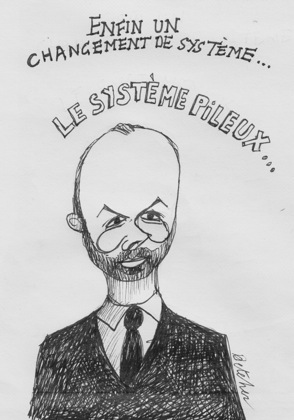 premier-ministre-edouard-philippe-caricature