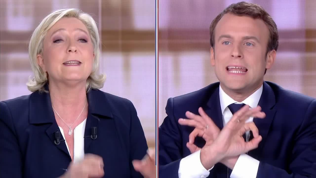 débat-présidentielle-Macron-Marine-Le-Pen