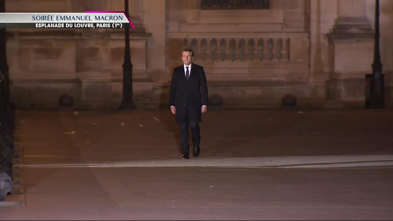 Président-Macron-Louvre