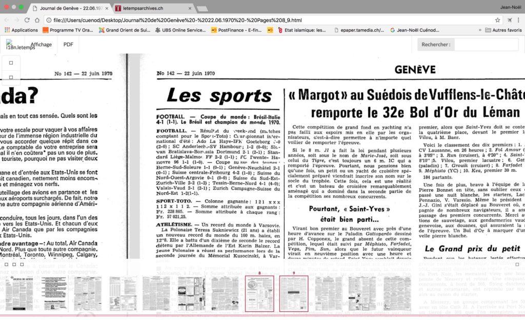 information-journal-de-genève-football