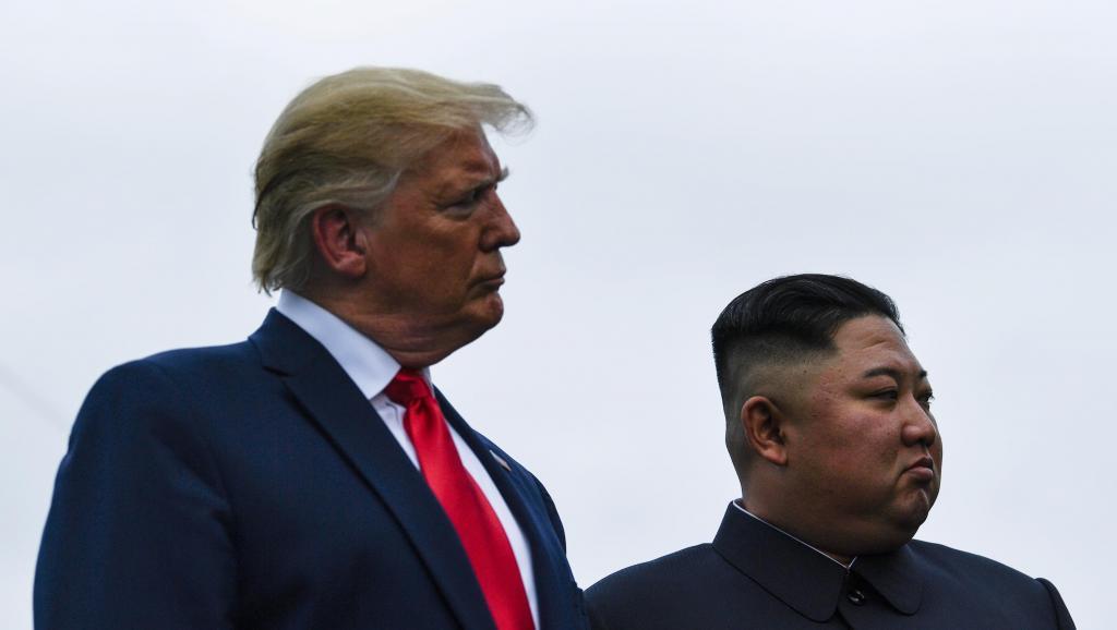 Trump-Kim-Corée-nord-sud