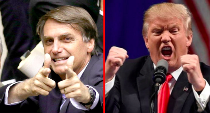 Bolsonaro-Trump-G7-Amazonie